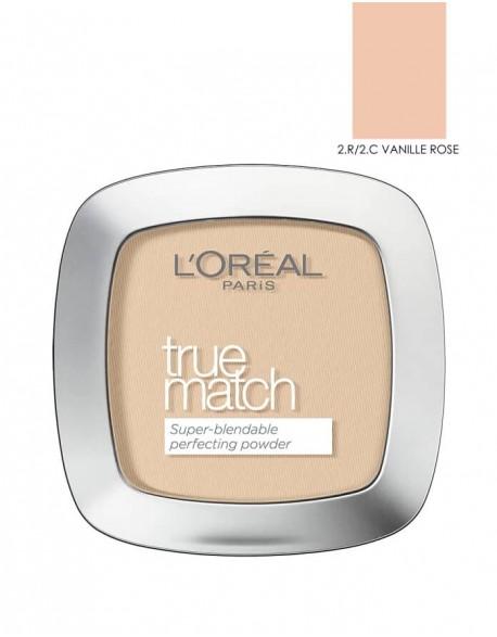 Kompaktinė Pudra LOREAL True match Rose Vanilla
