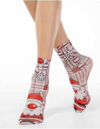 "Носки женские ""Funny Santa"""