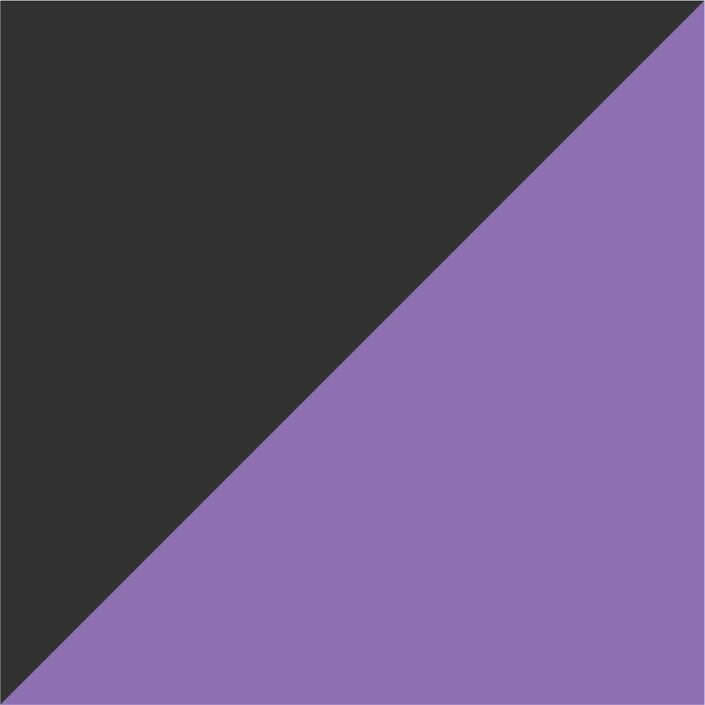 Violetinė/Juoda